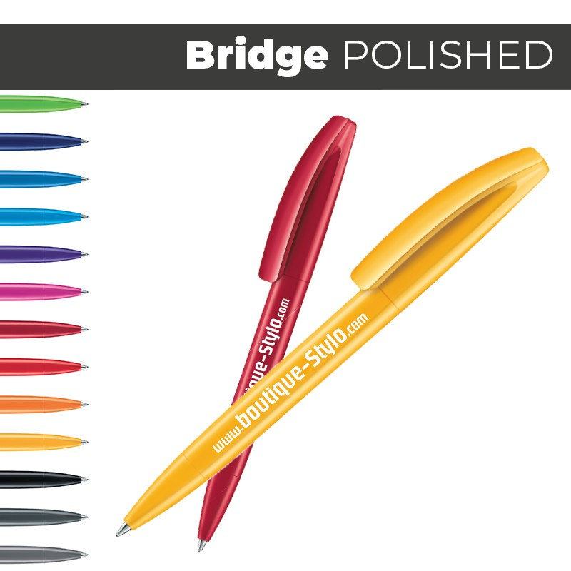 BRIDGE Polished - Stylo Publicitaire