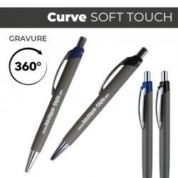 CURVE Soft Touch - Stylo Publicitaire