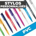 Stylo Personnalisé publicitaire PVC
